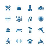 Hotel set icon