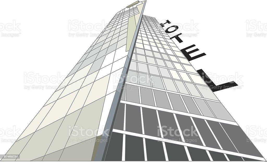 Hotel royalty-free stock vector art