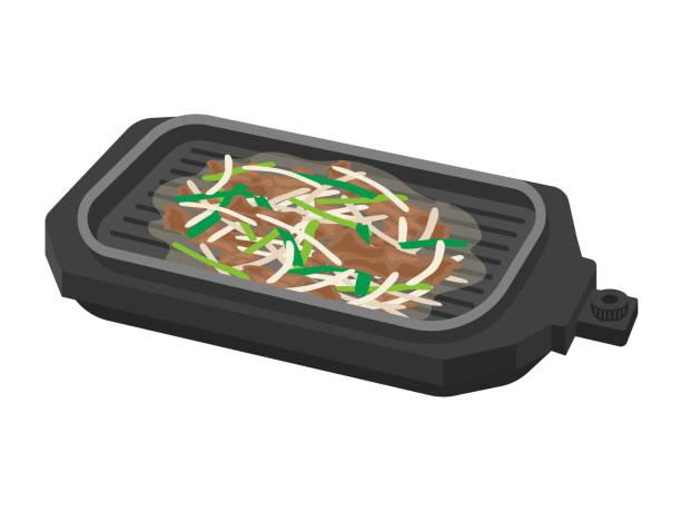 ilustrações de stock, clip art, desenhos animados e ícones de hotplate - burned oven