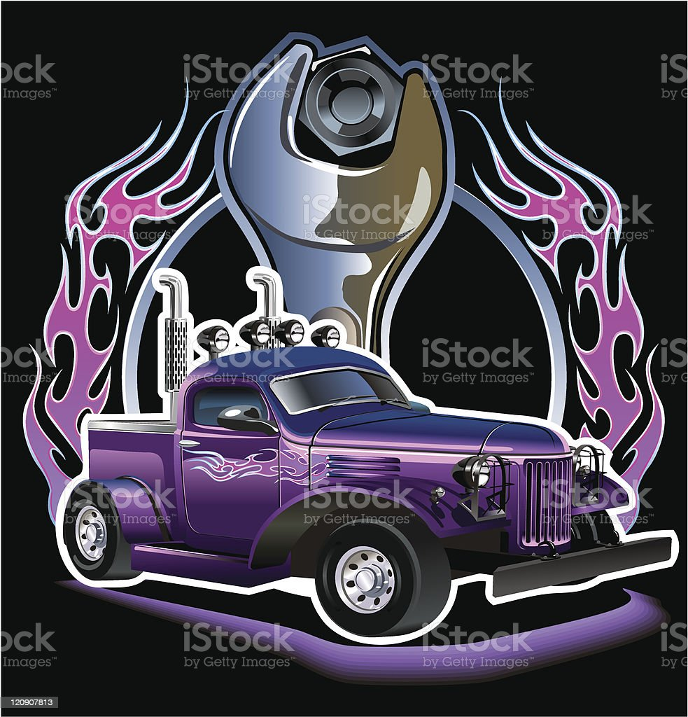 Hotrod royalty-free hotrod stock vector art & more images of antique