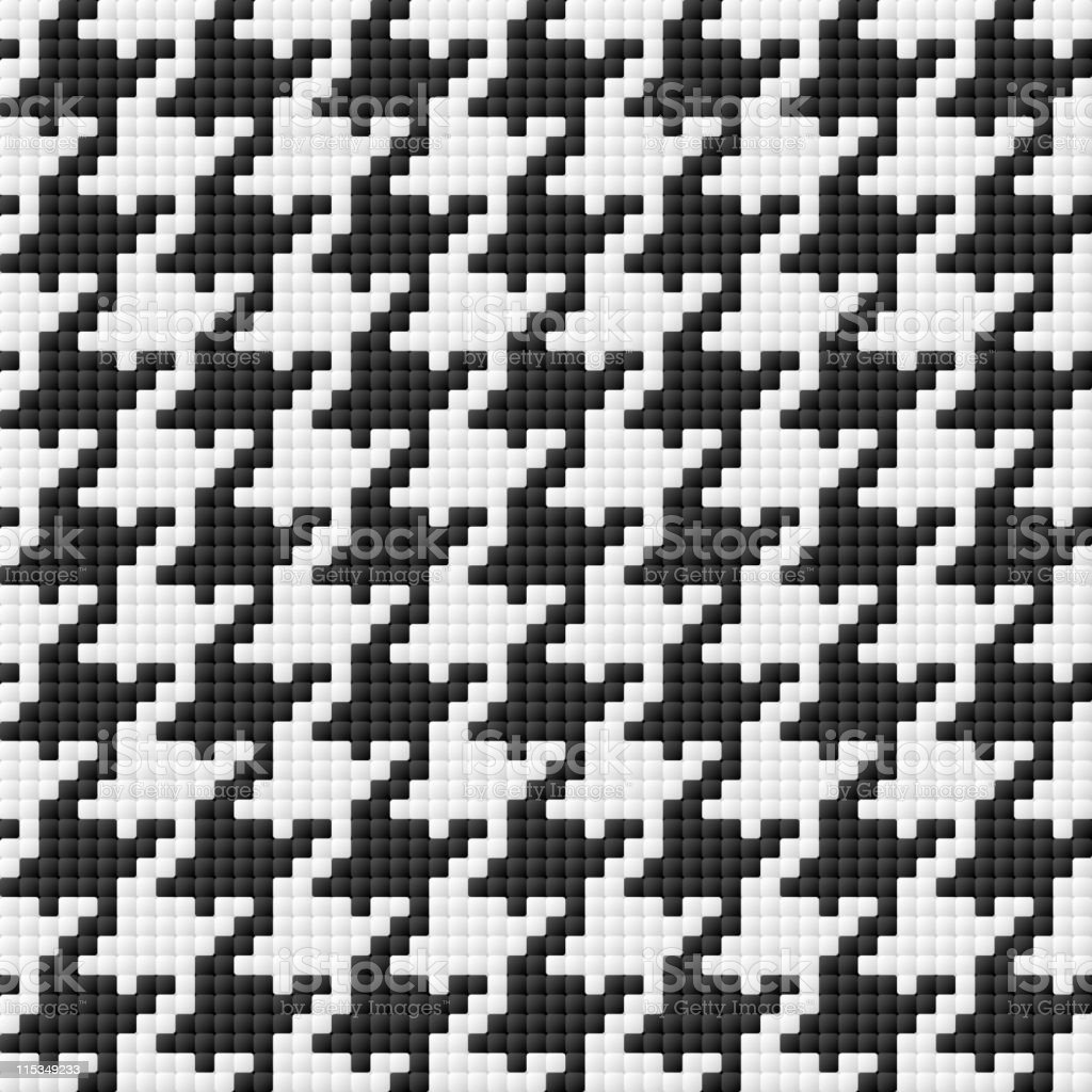 Houndstooth pattern royalty-free stock vector art