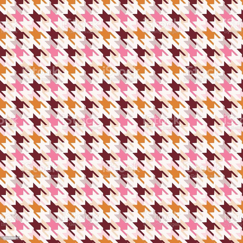 Houndstooth seamless pattern. houndstooth seamless pattern – cliparts vectoriels et plus d'images de abstrait libre de droits