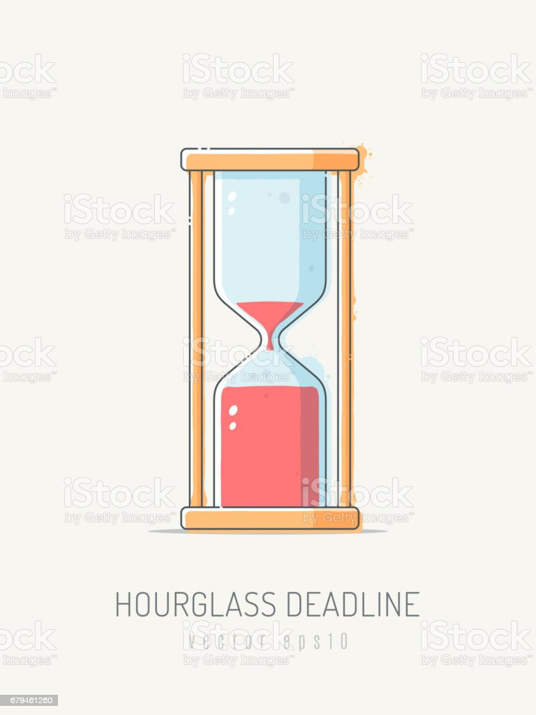 Hourglass Deadline royalty-free hourglass deadline stock vector art & more images of canada