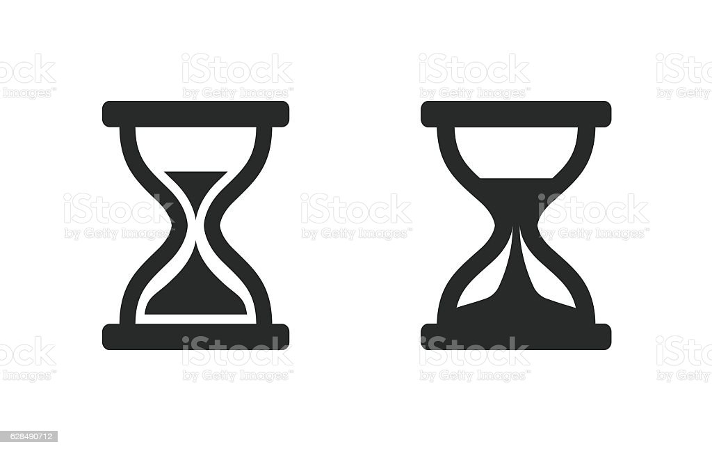 hourglass vector icon stock vector art more images of business rh istockphoto com hourglass vector free download hourglass vector icon