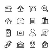House and Real Estate Icons - Acme Series