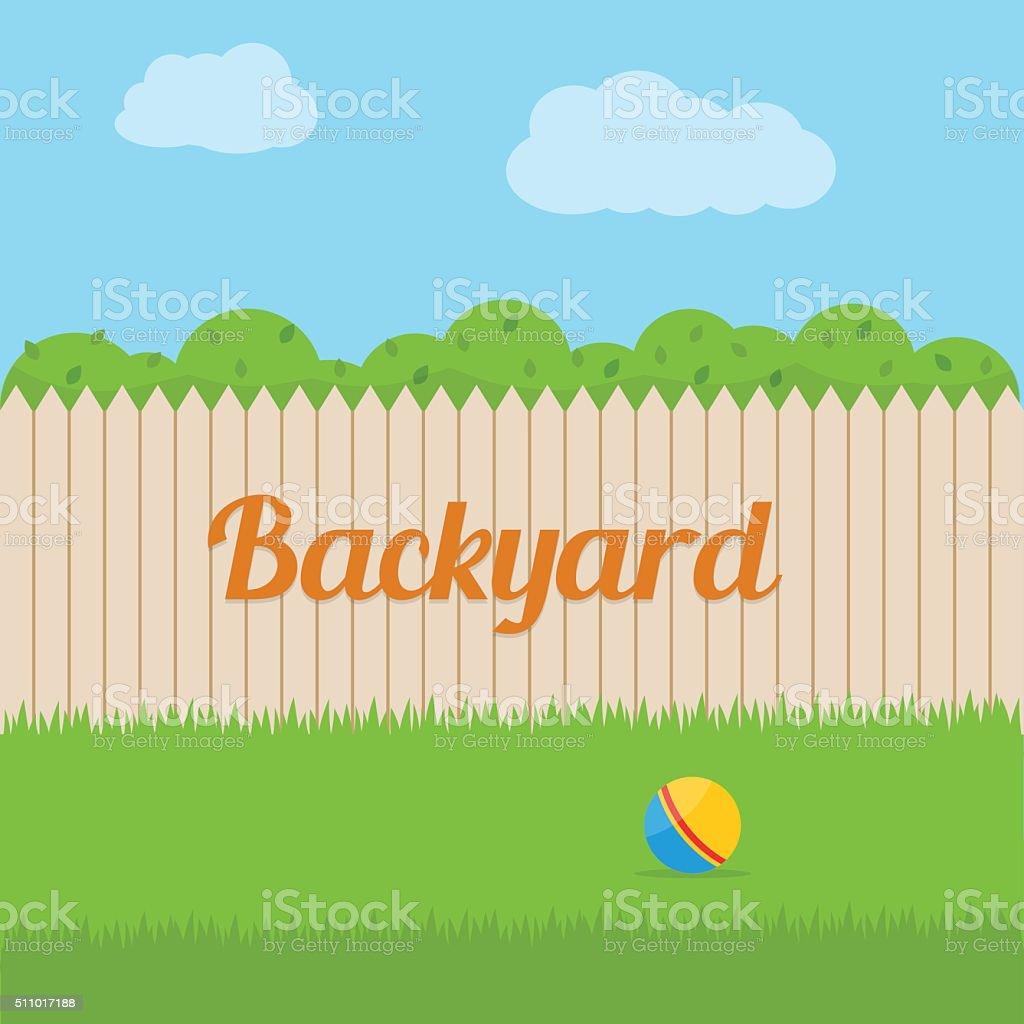 royalty free backyard clip art vector images illustrations istock rh istockphoto com backyard bbq clipart free clipart backyard party