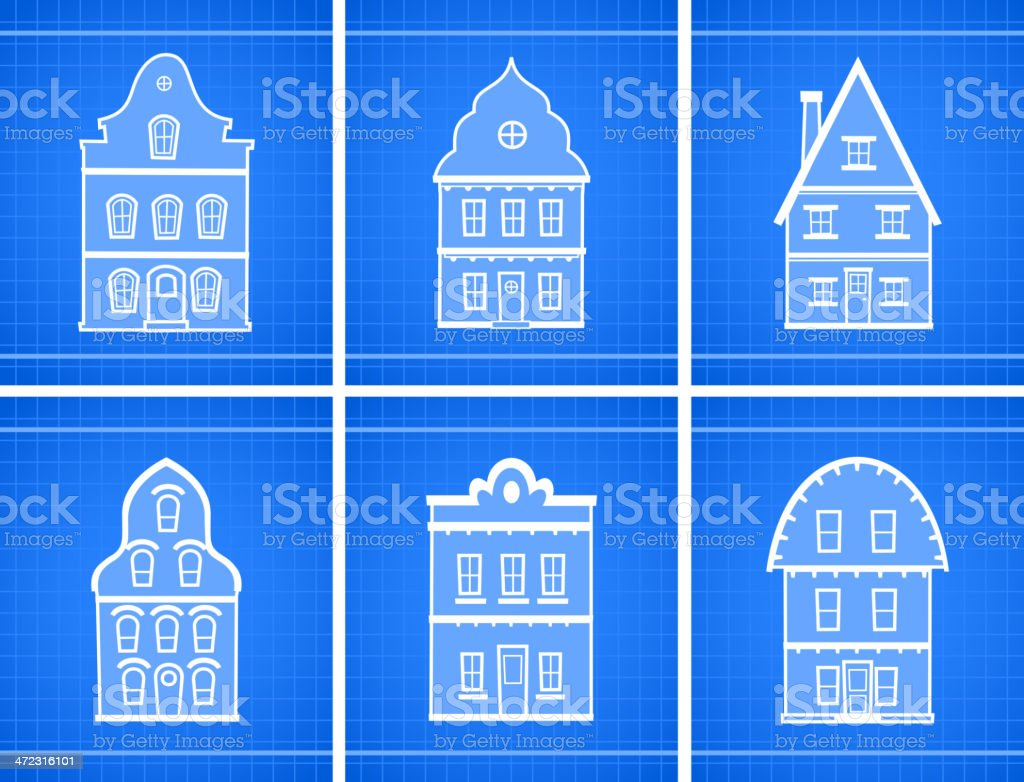 House blueprint icons stock vector art more images of abstract house blueprint icons royalty free house blueprint icons stock vector art amp more images malvernweather Images