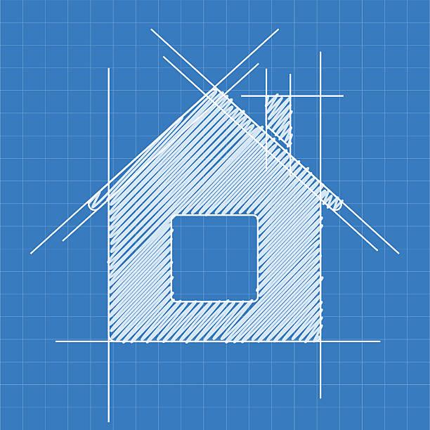 projekt logo firmy - mieszkanie komunalne stock illustrations