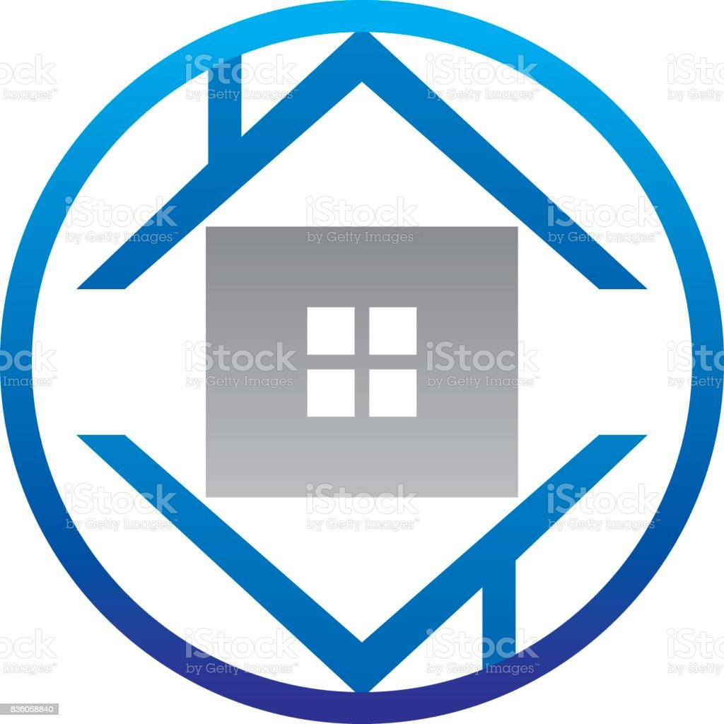 House buy and sell vector art illustration