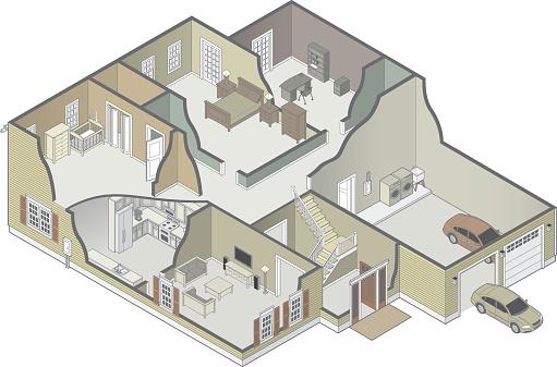 House Cutaway