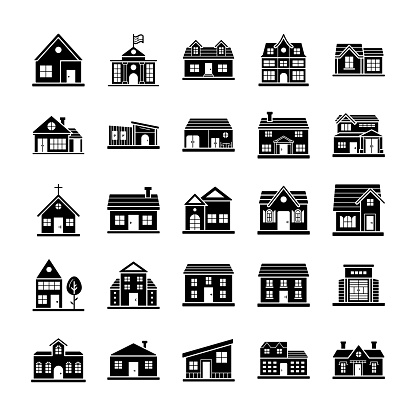 House Designs Icons Collection