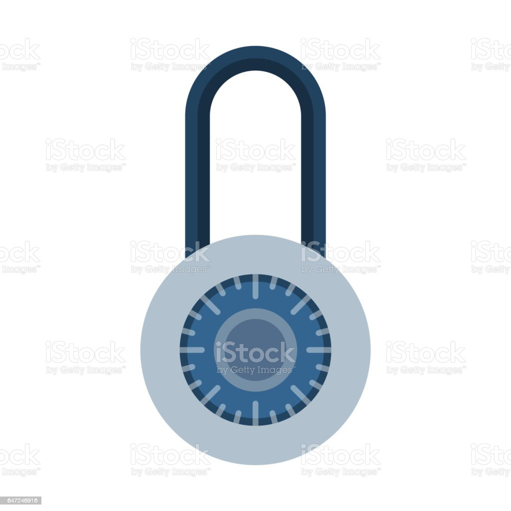 House door lock access equipment icon vector safety password privacy element with key and padlock protection  sc 1 st  iStock & House Door Lock Access Equipment Icon Vector Safety Password Privacy ...