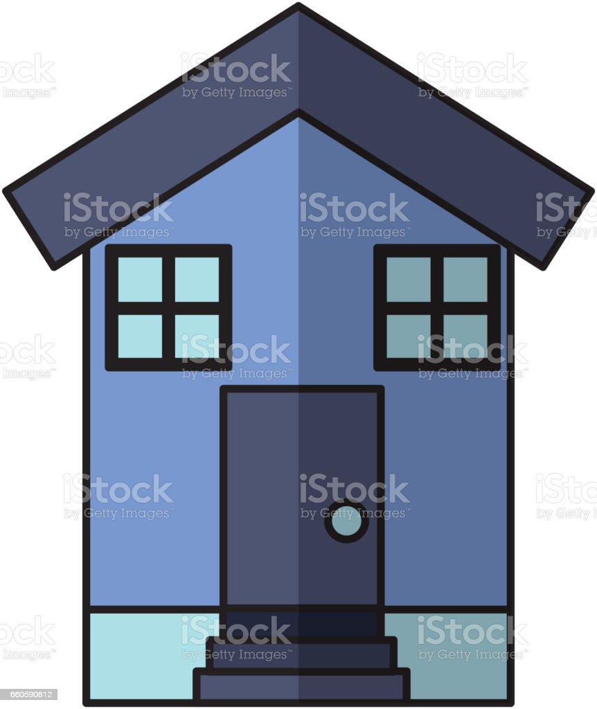 house exterior isolated icon royalty-free house exterior isolated icon stock vector art & more images of architecture