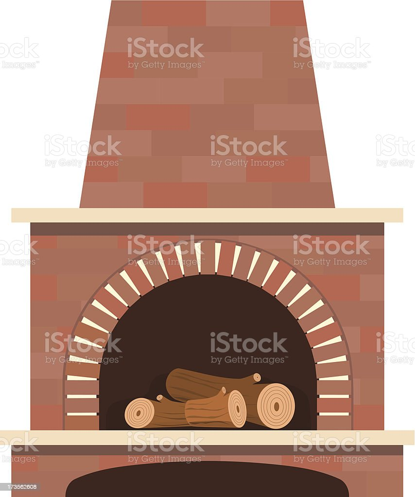 house fireplace vector royalty-free house fireplace vector stock vector art & more images of architecture