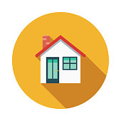 House Flat Design Charity & Donation Icon