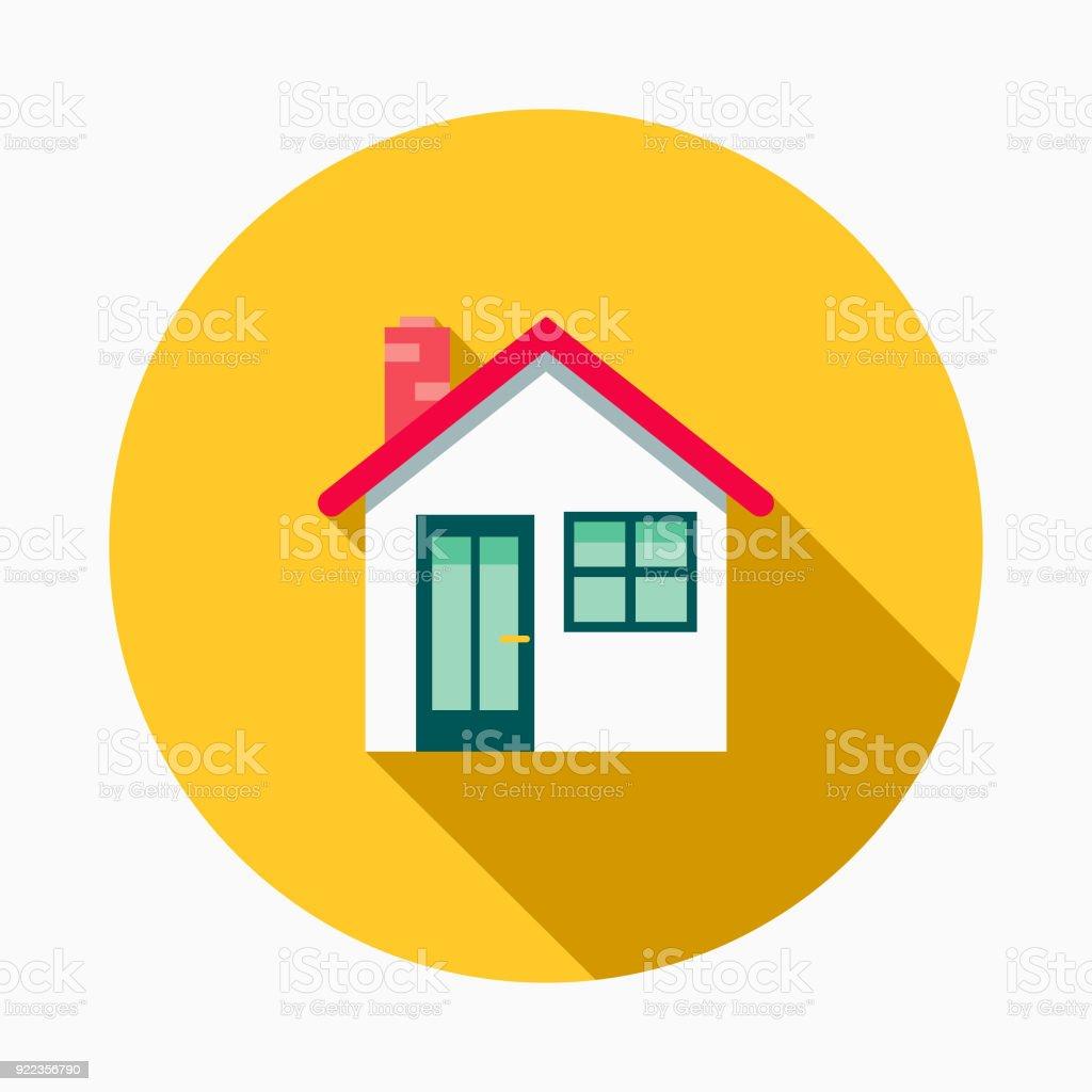 home improvement design. House Flat Design Home Improvement Icon Royalty-free Stock