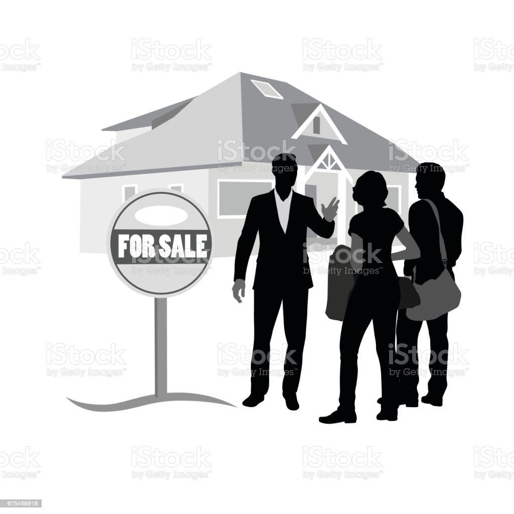 House For Sale house for sale – cliparts vectoriels et plus d'images de accord - concepts libre de droits