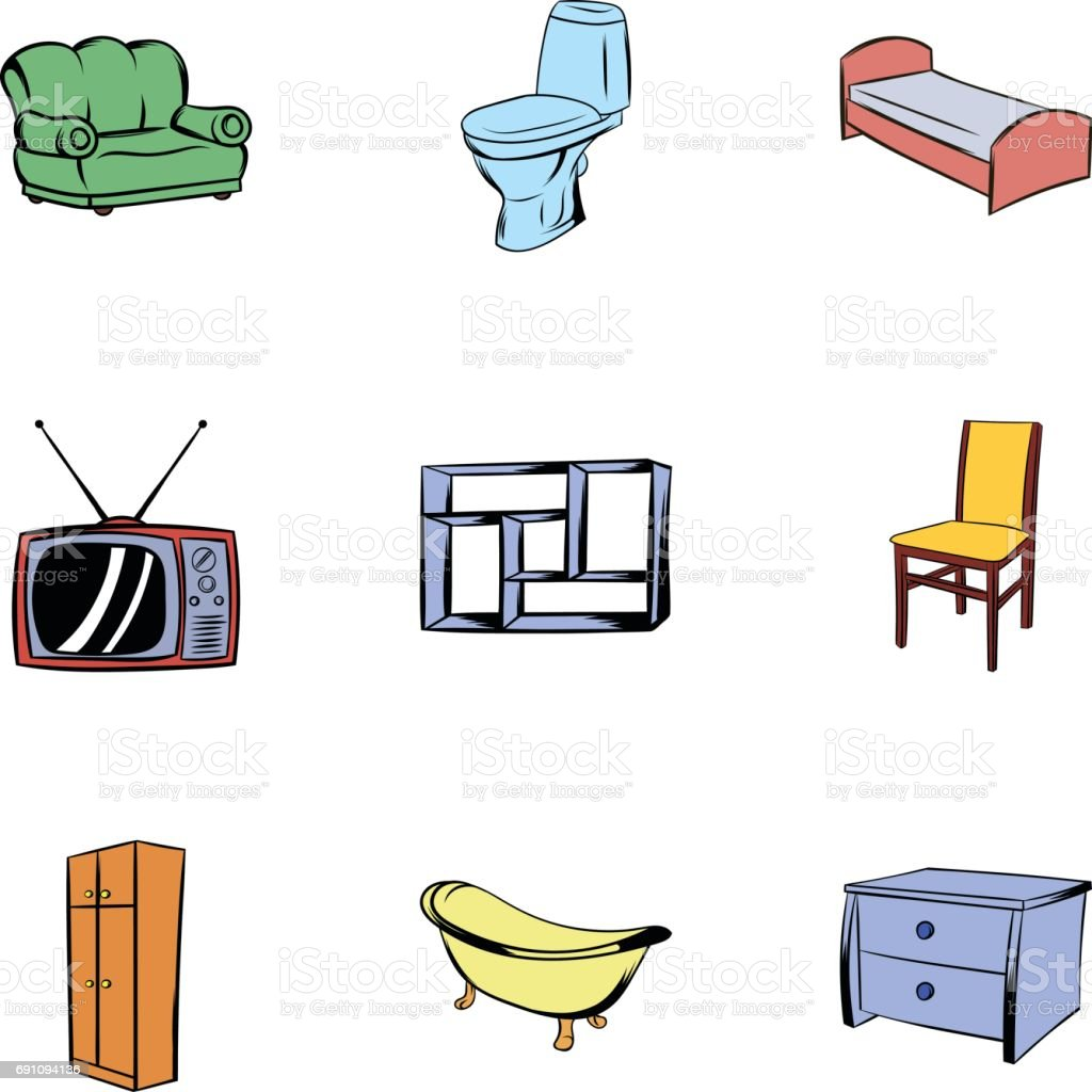 Muebles dibujos animados obtenga ideas dise o de muebles for De casa muebles