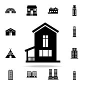 house  icon. house icons universal set for web and mobile