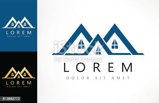 House icon. Real Estate icon Design.