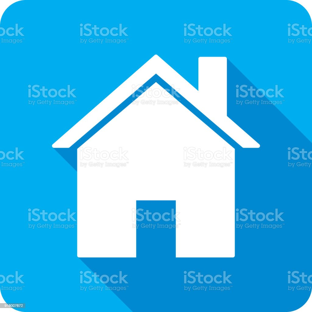 House Icon Silhouette vector art illustration