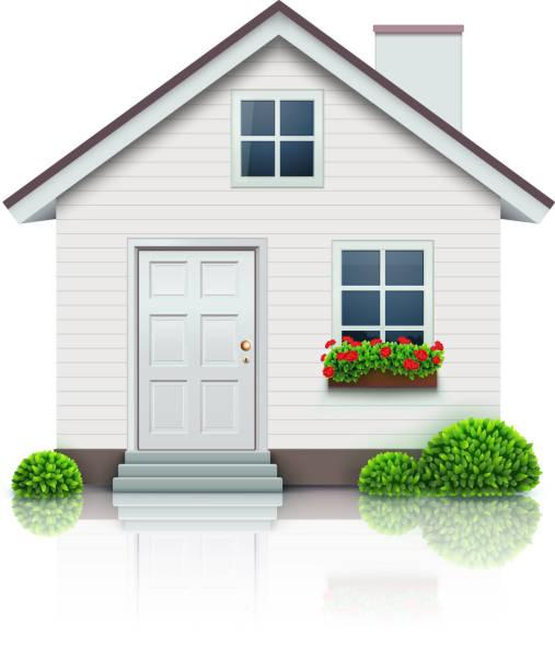 illustrations, cliparts, dessins animés et icônes de icône house - nouveau foyer