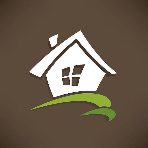 haus-symbol - landhaus stock-grafiken, -clipart, -cartoons und -symbole