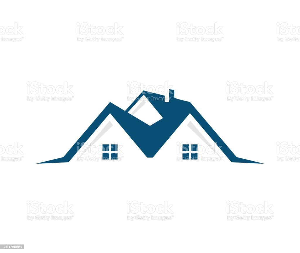 House icon - Векторная графика Абстрактный роялти-фри