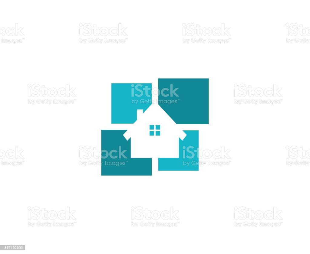 Icône House - Illustration vectorielle