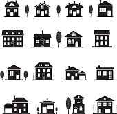 House icons.