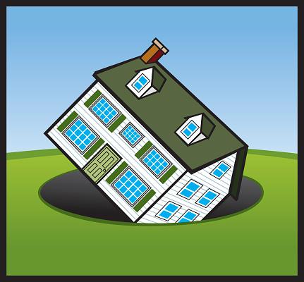 House In Money Hole-vektorgrafik och fler bilder på Arkitektur