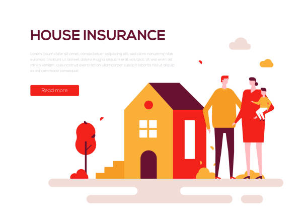 Best Home Insurance Illustrations, Royalty-Free Vector ...