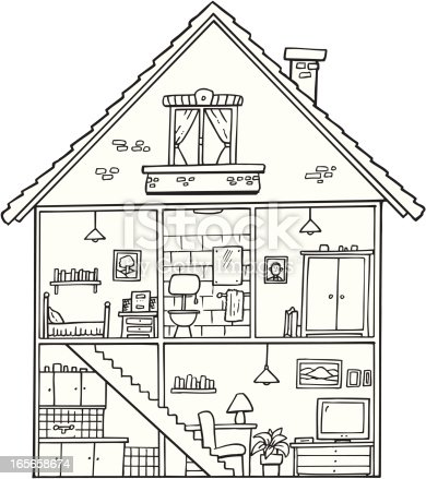 home furniture coloring pages - photo#39