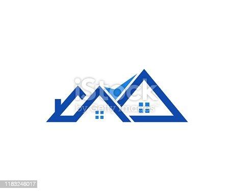 istock House logo 1183246017