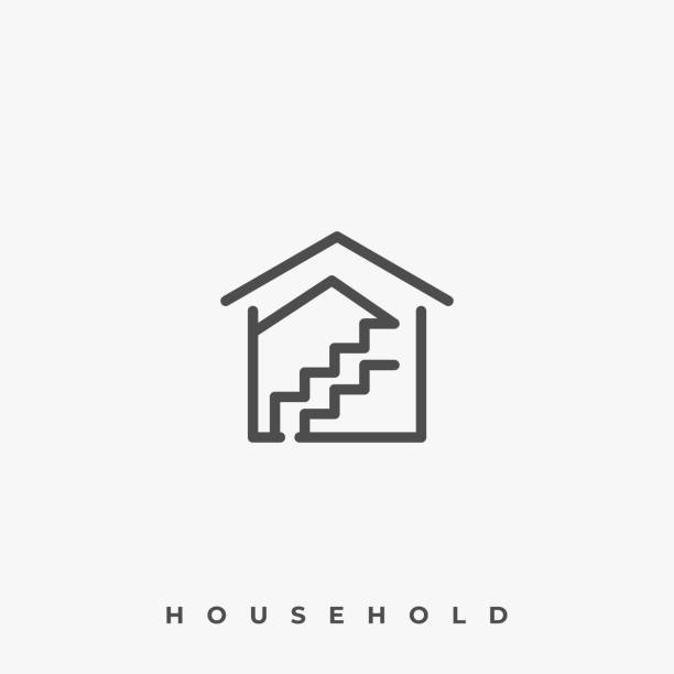 House Mold Illustration Vector Template House Mold Illustration Vector Template. Suitable for Creative Industry, Multimedia, entertainment, Educations, Shop, and any related business. architecture clipart stock illustrations