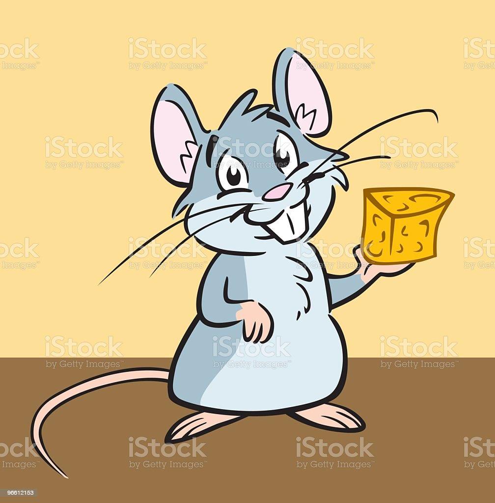 House Mouse - Royalty-free Binnenopname vectorkunst