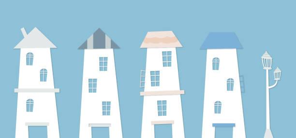 dom obiekt ilustracji źródła, które wydaje się wychodzić w bajce. - white house stock illustrations