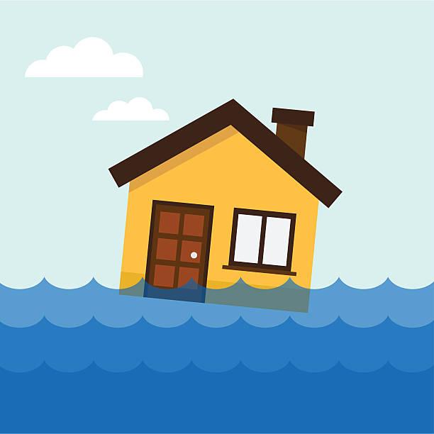 Asamblea sobre el agua - ilustración de arte vectorial
