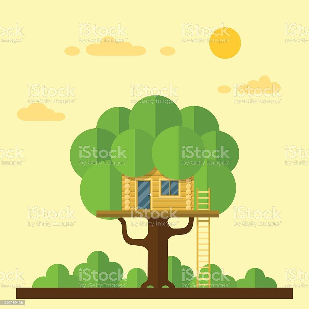 house on tree