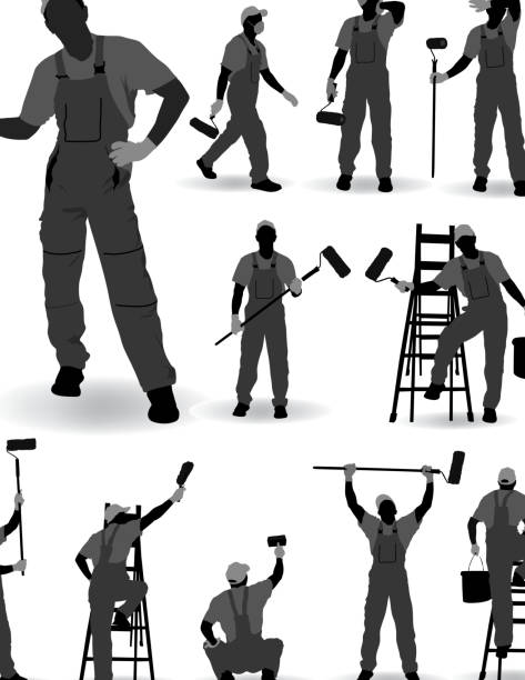House Painter – Vektorgrafik