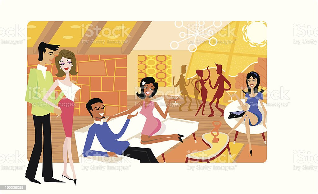 House Party royalty-free house party stock vector art & more images of beauty