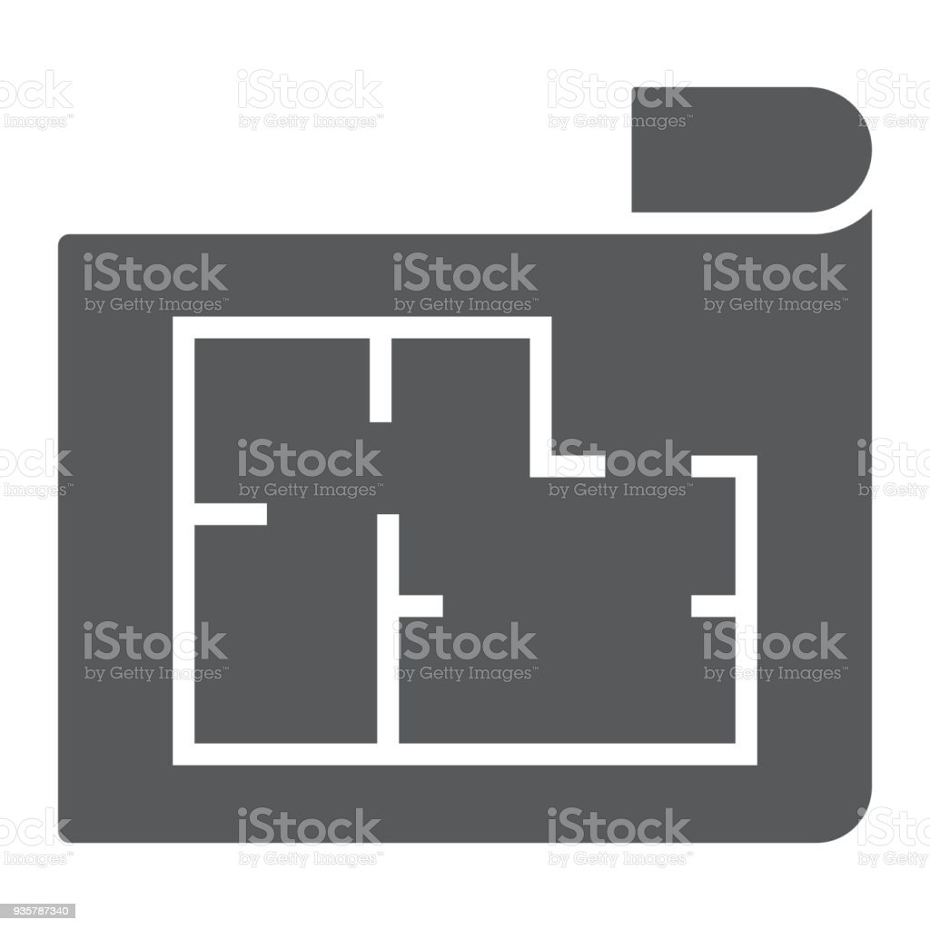 House plan glyph icon real estate and home architectural blueprint house plan glyph icon real estate and home architectural blueprint sign vector graphics malvernweather Image collections