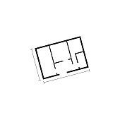 Plan, House, Blueprint, Furniture, Home Showcase Interior