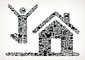 House Purchase Farming and Agriculture Black Icon Pattern . The black vector icons create a seamless pattern and include popular farming and agriculture. This black and white icon patter inclides: Farm house, farm animals, fruits and vegetables and seasonal food items. The icons are carefully arranged on a light background and vary in size.