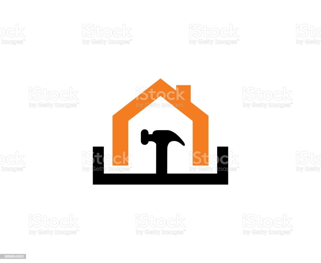 House repair icon vector art illustration