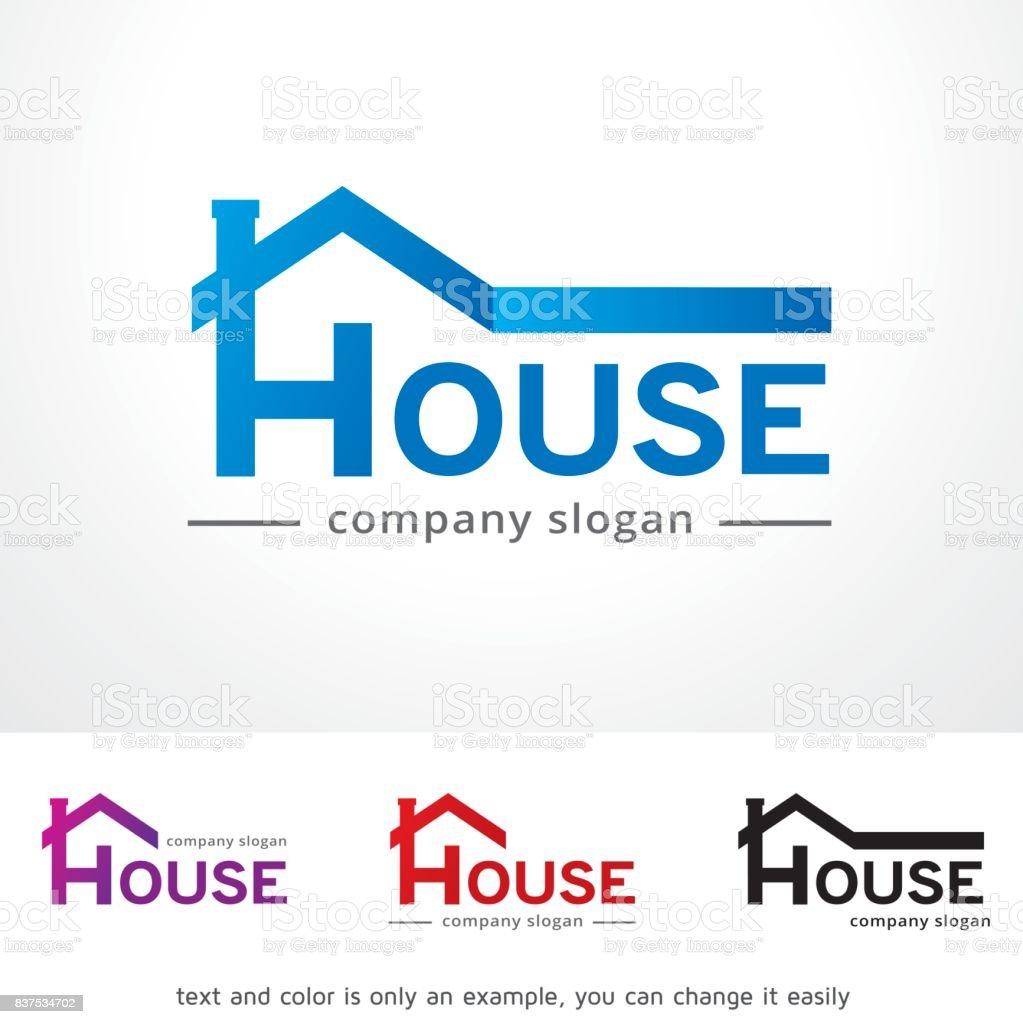 家のシンボル テンプレート デザインのベクトル、エンブレム、デザイン コンセプト、創造的なシンボル アイコン ベクターアートイラスト