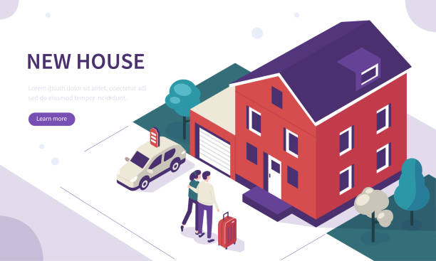 house - home stock illustrations