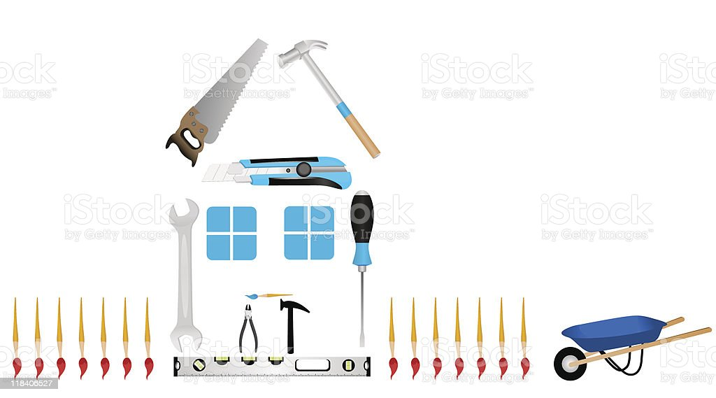 House royalty-free house stock vector art & more images of built structure