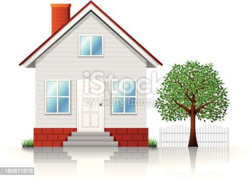 House. High Resolution JPG,CS5 AI and Illustrator 0.8 EPS included.