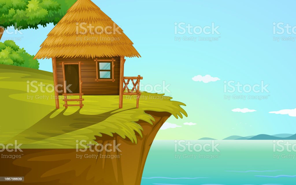 House royalty-free house stock vector art & more images of beach